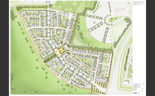 phases 10 and 11 Trumpinton Meadows development