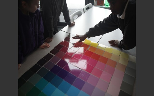 Heinrichpalmer were appointed to create an interactive artwork at Camulos Primary