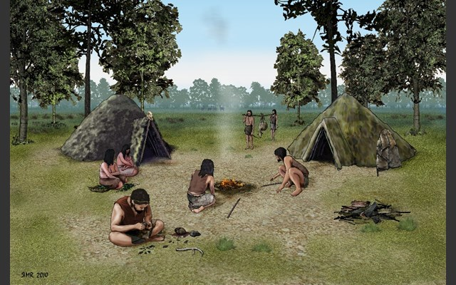Mesolithic artwork