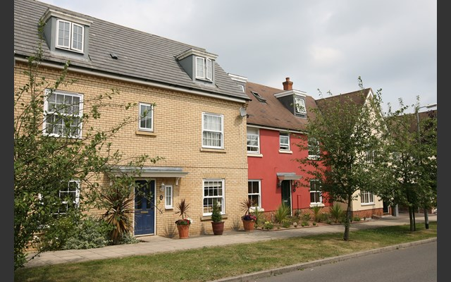 New residential housing in Essex