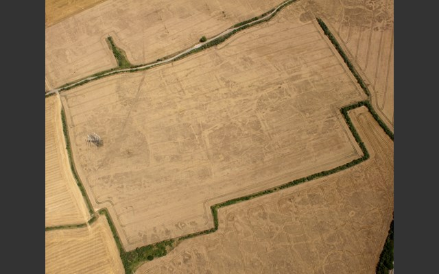 aerial photo of Corringham