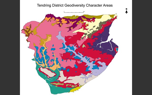 Tendring Geodiversity Character Areas