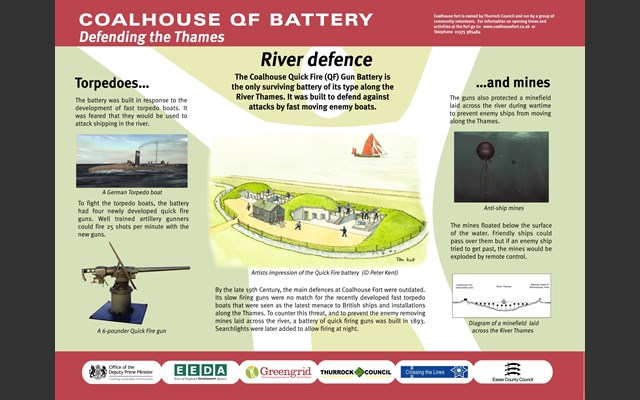 Coalhouse Fort Quickfire Battery