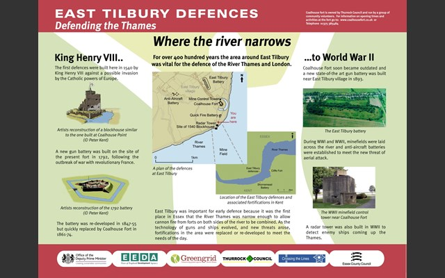 East Tilbury Defences