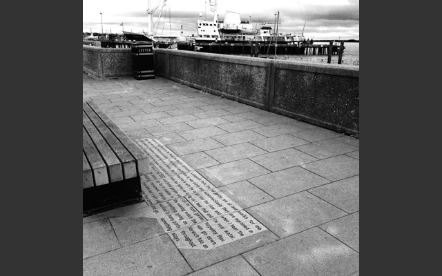 Shadow benches, Harwich