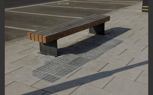 Shadow Bench in Harwich