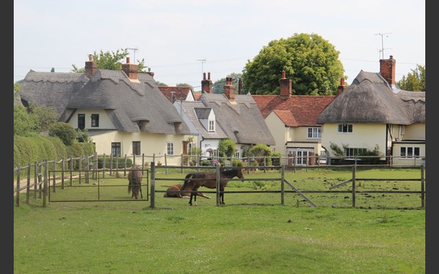 Cottages, Clavering Essex