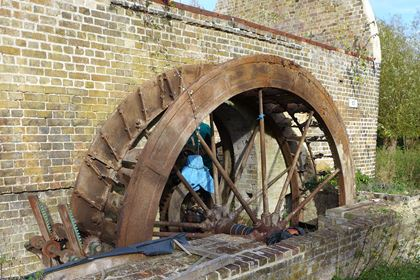 Gunpowder presshouse wheel