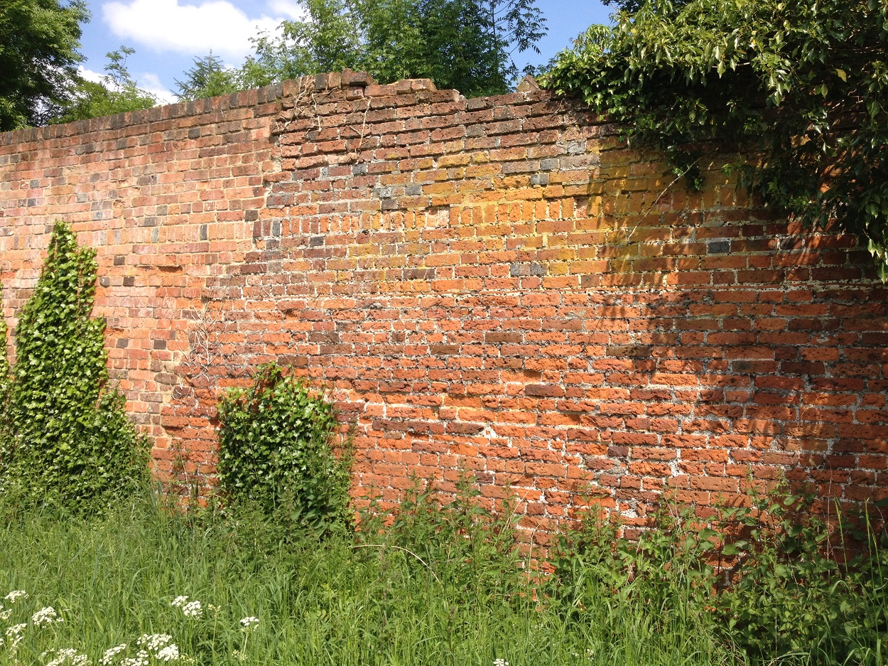 Historic brickwork at Hatfield House
