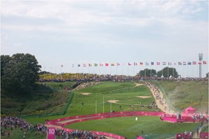 Start to finish loop at London 2012 mountain biking venue