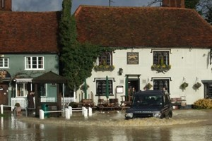 Flooded Finchingfield